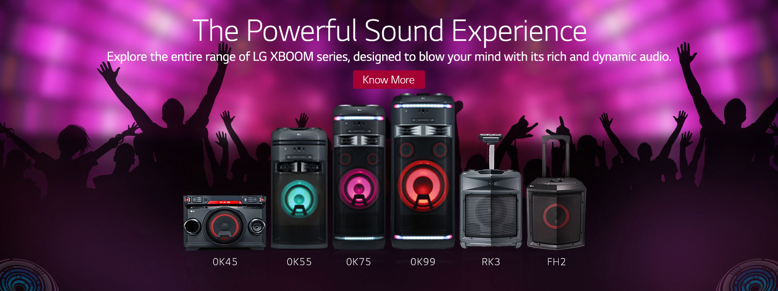 Home Theatres , Soundbars & Speakers Online | LG Brand Store
